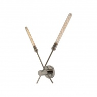 Kinkiet Modern Loft 10x10x14 cm ALTAVOLA DESIGN srebrny
