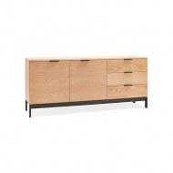 Komoda Kokoon Design Stada 160x70 cm drewniana