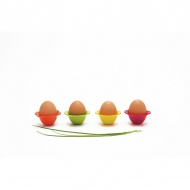 Komplet 2-óch podstawek na jajka Zak! Design Flower