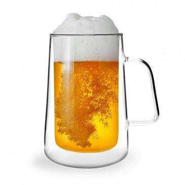 Komplet 6-szklanek termicznych z podwójną ścianką 300ml Diva 27541