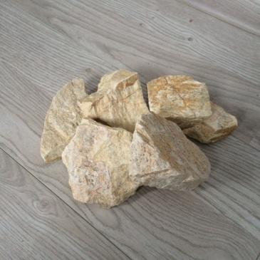 Komplet kamieni ozdobnych do biokominków Ecofire Łamany Łupek