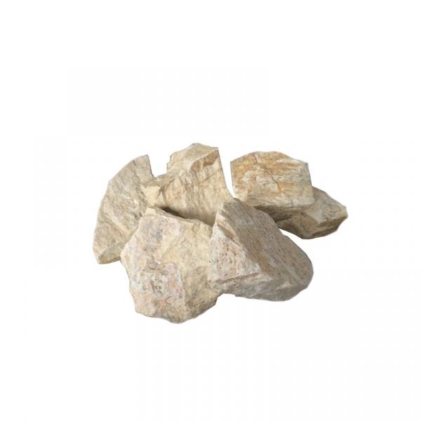 Komplet kamieni ozdobnych do biokominków Ecofire Łamany Łupek jasne EF-006