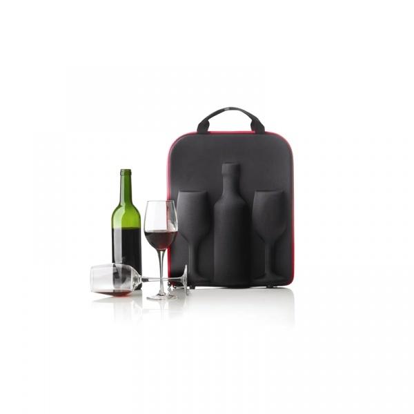 Kontener na wino + 2 kieliszki XDDesign Swirl XD-P911.301