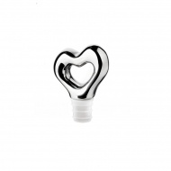 Korek do butelek 7,1cm Guzzini Love chrome