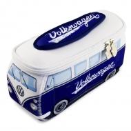 Kosmetyczka 23x11x8 cm BRISA VW BUS niebieska