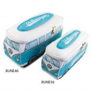 Kosmetyczka 23x11x8 cm BRISA VW BUS turkusowa