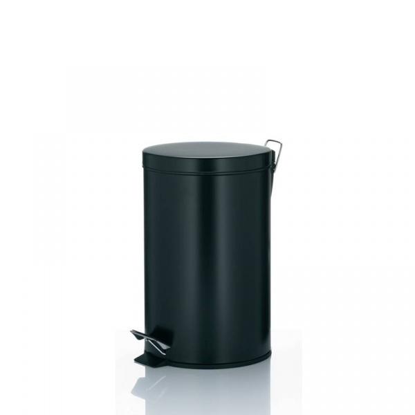 Kosz łazienkowy 12L Kela Kilian czarny KE-10931