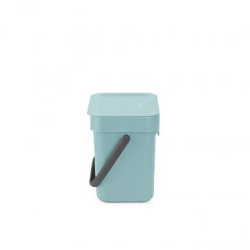 Kosz na odpadki Sort & Go miętowy 3L 209826