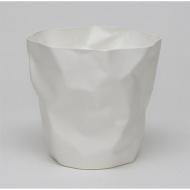"""Kosz na śmieci 31x31cm D2 """"Papier"""" biały"""