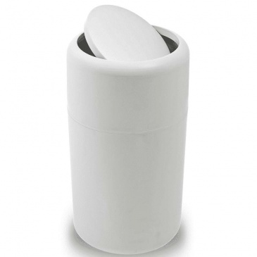 Kosz na śmieci biały kuchenny Capsule