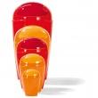 Kosz na śmieci Koziol Del S pomarańczowo-czerwony KZ-5777633