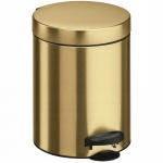 Kosz na śmieci kuchenny 5l New Line Meliconi Złoty
