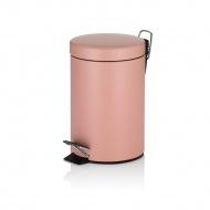 Kosz na śmieci łazienkowy Rose 3,0 l Kela różowy