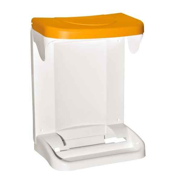 Kosz na śmieci Meliconi Ecologica 20L pomarańczowy 14108402195-ORANGE