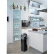 Kosz na śmieci Meliconi SOFT-TOUCH 60L brushed steel 14000739206BE
