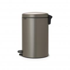 Kosz na śmieci pedałowy NewIcon Brabantia 20l platynowy