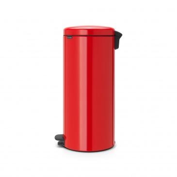 Kosz na śmieci pedałowy NewIcon Brabantia 30l czerwony