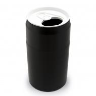 Kosz na śmieci puszka czarny 22L 10081-BK
