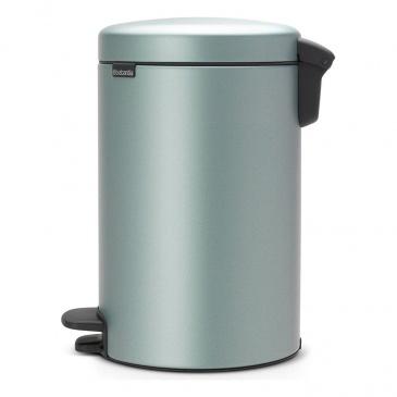 Kosz na śmieci kuchenny pedałowy 12l NewIcon Brabantia metaliczny miętowy