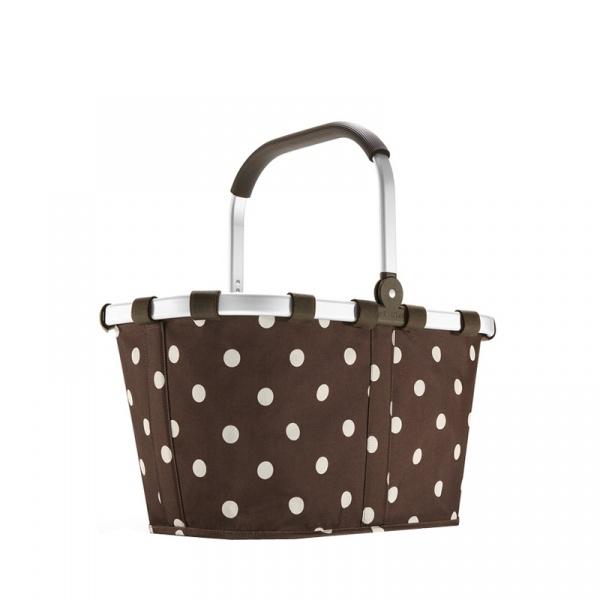 Kosz piknikowy Reisenthel Carrybag mocha dots BK6018