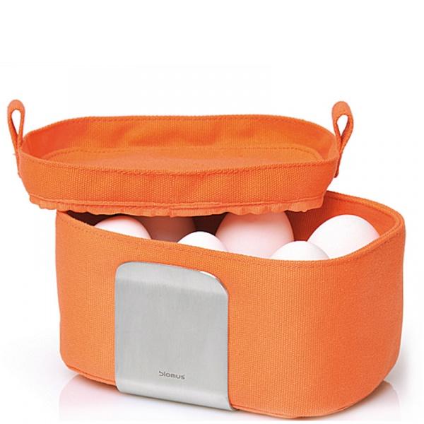 Koszyk na jajka Blomus Desa pomarańczowy 63520