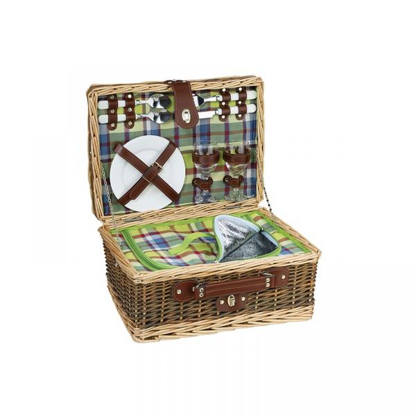 Koszyk piknikowy dla 2 osób Cilio Melano CI-156607