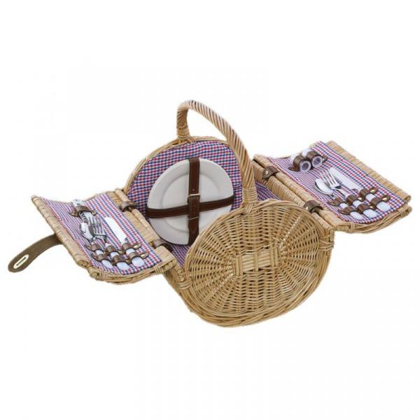Koszyk piknikowy dla dwóch osób Cilio Mandello  CI-155945