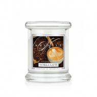 Kringle Candle - Vanilla Latte - mini, klasyczny słoik (128g)