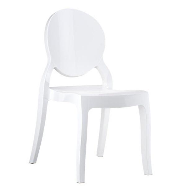 Krzesło Baby Mia biała DK-19417