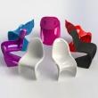 Krzesło Balance fiolet DK-3846