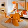 Krzesło Balance pomarańczowe DK-3848