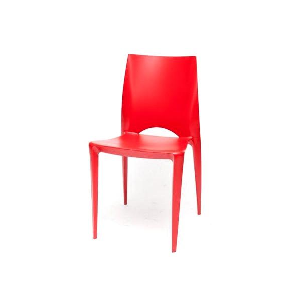 Krzesło Bee czerwone DK-14539
