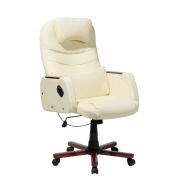 Krzesło biurowe beżowe Cipresso BLmeble