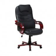 Krzesło biurowe czarne regulowana wysokość GENERAL