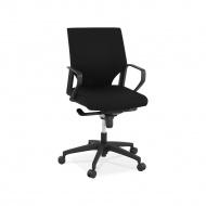 Krzesło biurowe Kokoon Design Serios 70x108 cm czarne