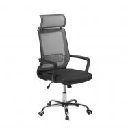 Krzesło biurowe szare regulowana wysokość Sisto BLmeble