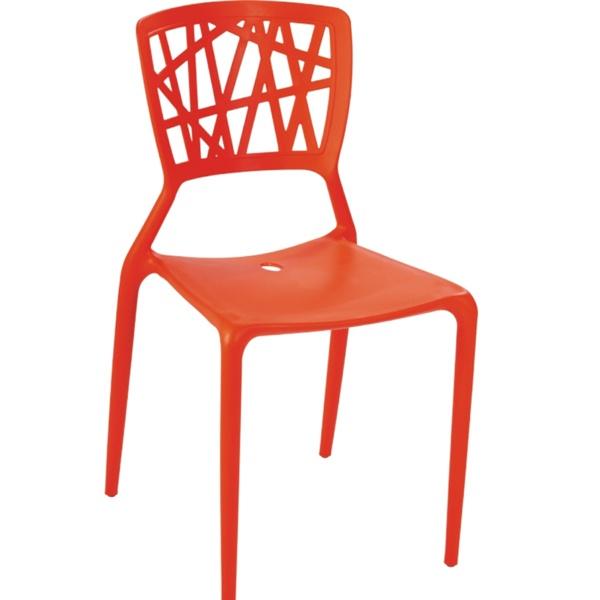 Krzesło Bush czerwone DK-23799