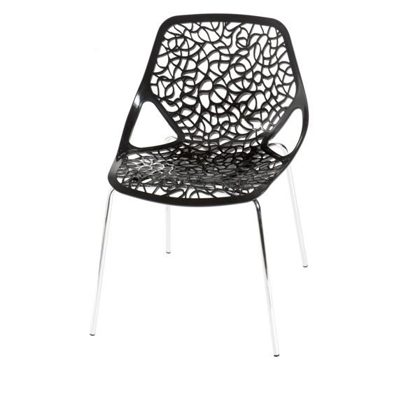Krzesło Cepelia czarne DK-23766