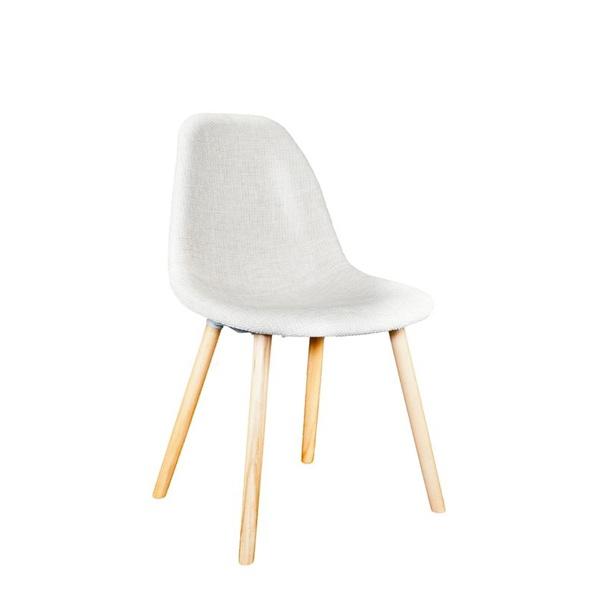 Krzesło Cosy tapicerowane, pods. drewn DK-23582
