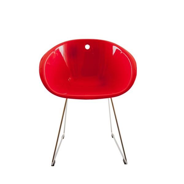 Krzesło Cube czerwone DK-23600