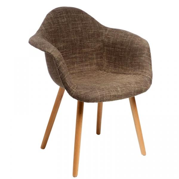 Krzesło D2 CosyArm tapicerowane ws053b DK-41472