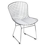 Krzesło D2.Design Harry srebrne