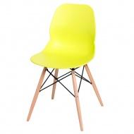 Krzesło D2 Layer DSW limonkowe