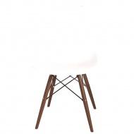 Krzesło D2 P016W PP białe/dark