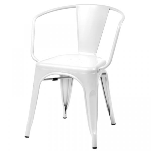 Krzesło D2 Paris Arms białe 5902385716963
