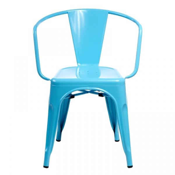 Krzesło D2 Paris Arms niebieskie DK-41357