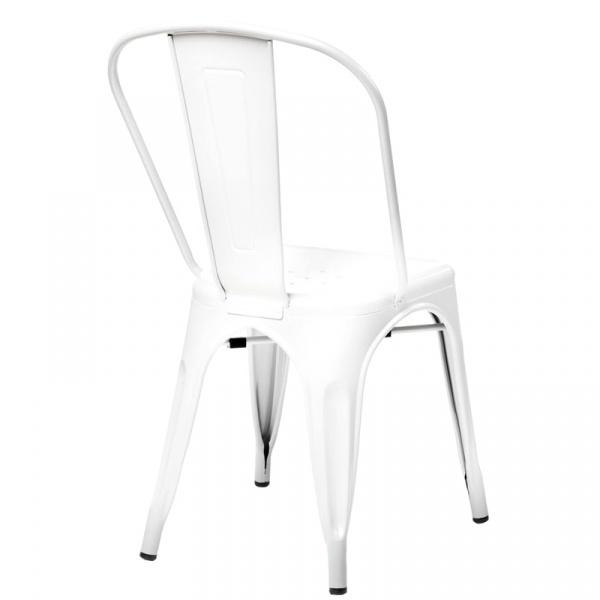 Krzesło D2 Paris białe  DK-41301