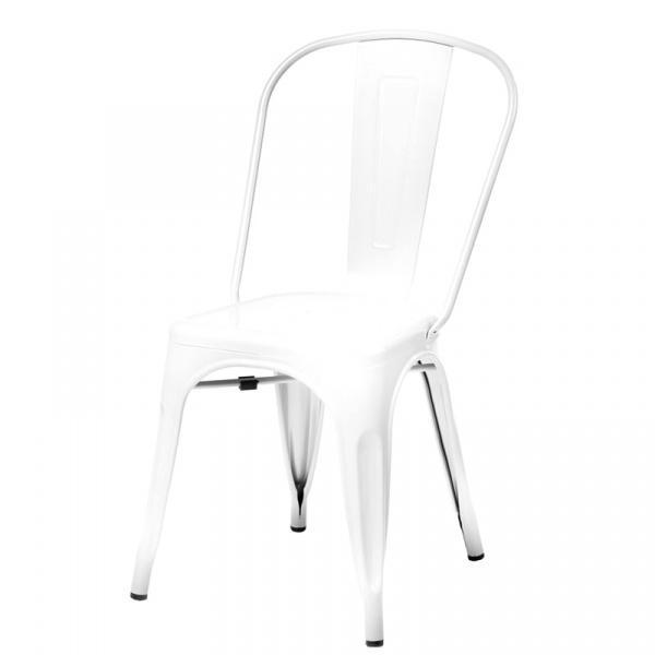 Krzesło D2 Paris białe  5902385711258