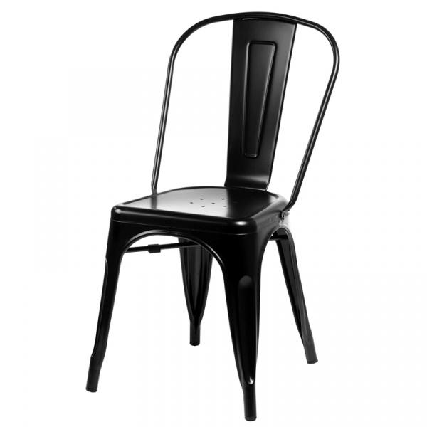Krzesło D2 Paris czarne DK-41305