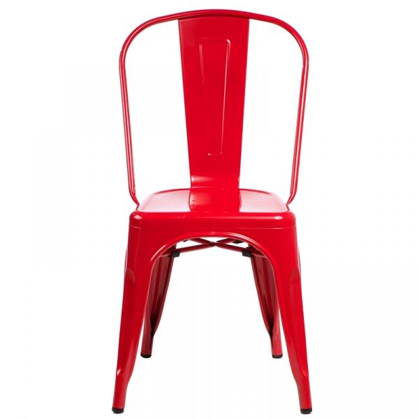 Krzesło D2 Paris czerwone DK-41309